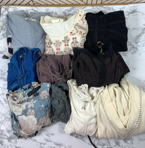 FREE PEOPLE ANTHROPOLOGIE Bundle Lot 11 Pieces Shi