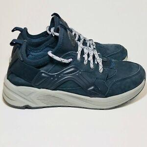 Earth-Womens-Size-7-Saunter-Walking-Hiking-Sneakers-Navy-Blue