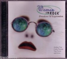 WOMEN IN ROCK Freedom of Expression CD Classic 70s 80s BETTY EVERETT TINA TURNER