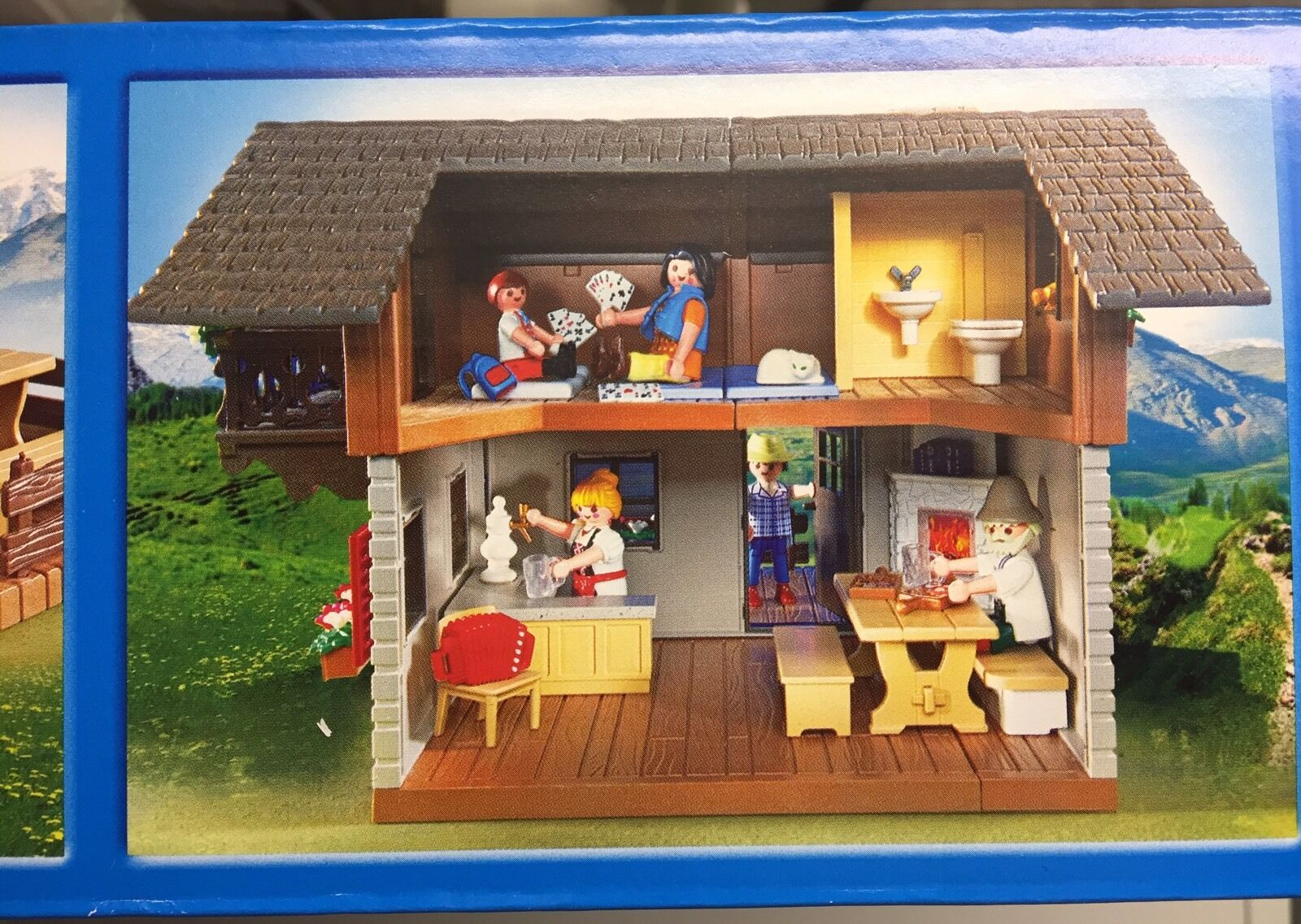 Playmobil Alpine Lodge 5422 Mini Figures Brand NEW & & & Company Sealed     4524b5