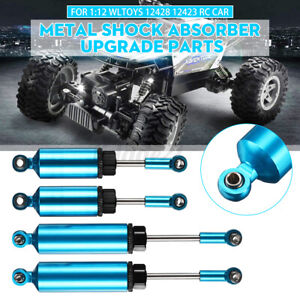 Metal Front Rear Shock Absorber Upgrade Parts For 1:12 Wltoys 12428 12423