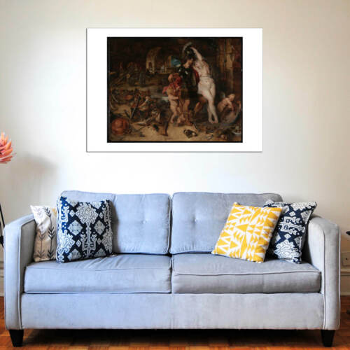 Peter Paul Rubens Mars Disarmed by Venus Wall Art Poster Print