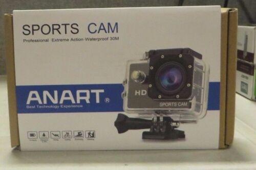 ANART Sports Cam HD 1080P 5MP 2.0 inch Digital Cam Video Underwater Camcorder