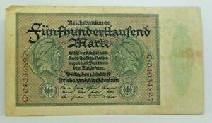 Km# 88 - 500000 mark 1923 - TB - Billet Allemagne - N7634