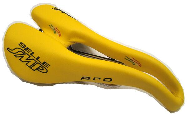 Selle SMP Pro Bicycle Bike Saddle Seat - Yellow