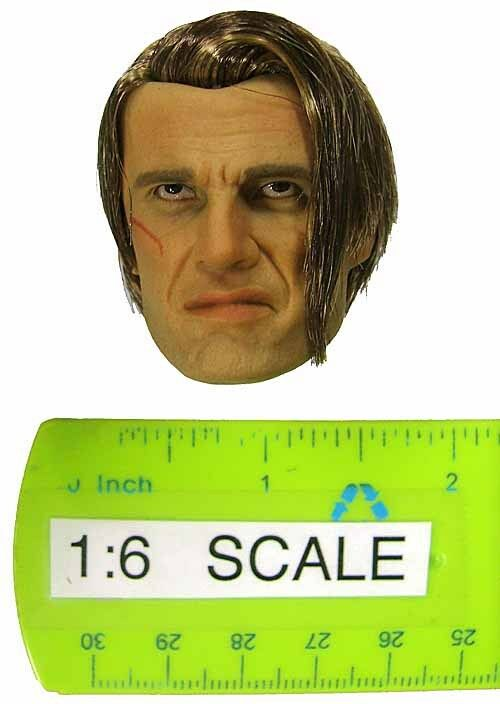 Belet Dolph Head Sculpt w  Hair (Expendables) 1 6 Scale Accessory