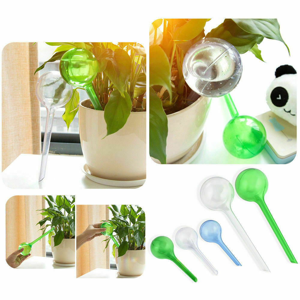 Automatic Self Watering Device Waterer Houseplant Plant Pot Garden Bulb Tool UK-