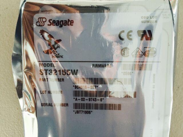 """*New* Seagate Hawk 2XL (ST32155W) 2.15 GB, 5400RPM, 3.5"""" Internal Hard Drive"""