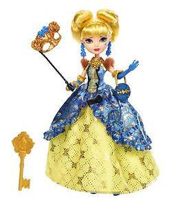 EVER-AFTER-HIGH-Thronecoming-Dance-BLONDIE-LOCKES-Doll-NEW-Mask-Goldilocks