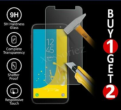 For Samsung Galaxy J4 J6 Plus J3 A3 Tempered Glass Mobile Phone Screen  Protector | eBay