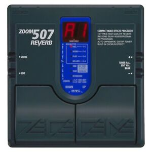 zoom 507 reverb chorus guitar effects pedal made in japan power supply ebay. Black Bedroom Furniture Sets. Home Design Ideas