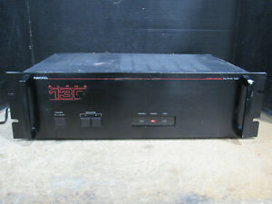 Nikko-Model-Alpha-130-Stereo-Power-Amplifier-w-Rack-Handles-Tested-and-Working