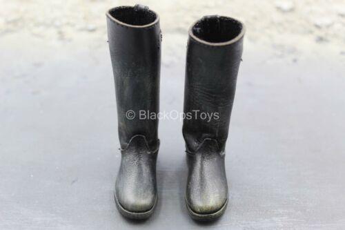 1//6 Scale Toy World War Two-Stalingrad-Major Konig-leather-LIKE Bottes pied type