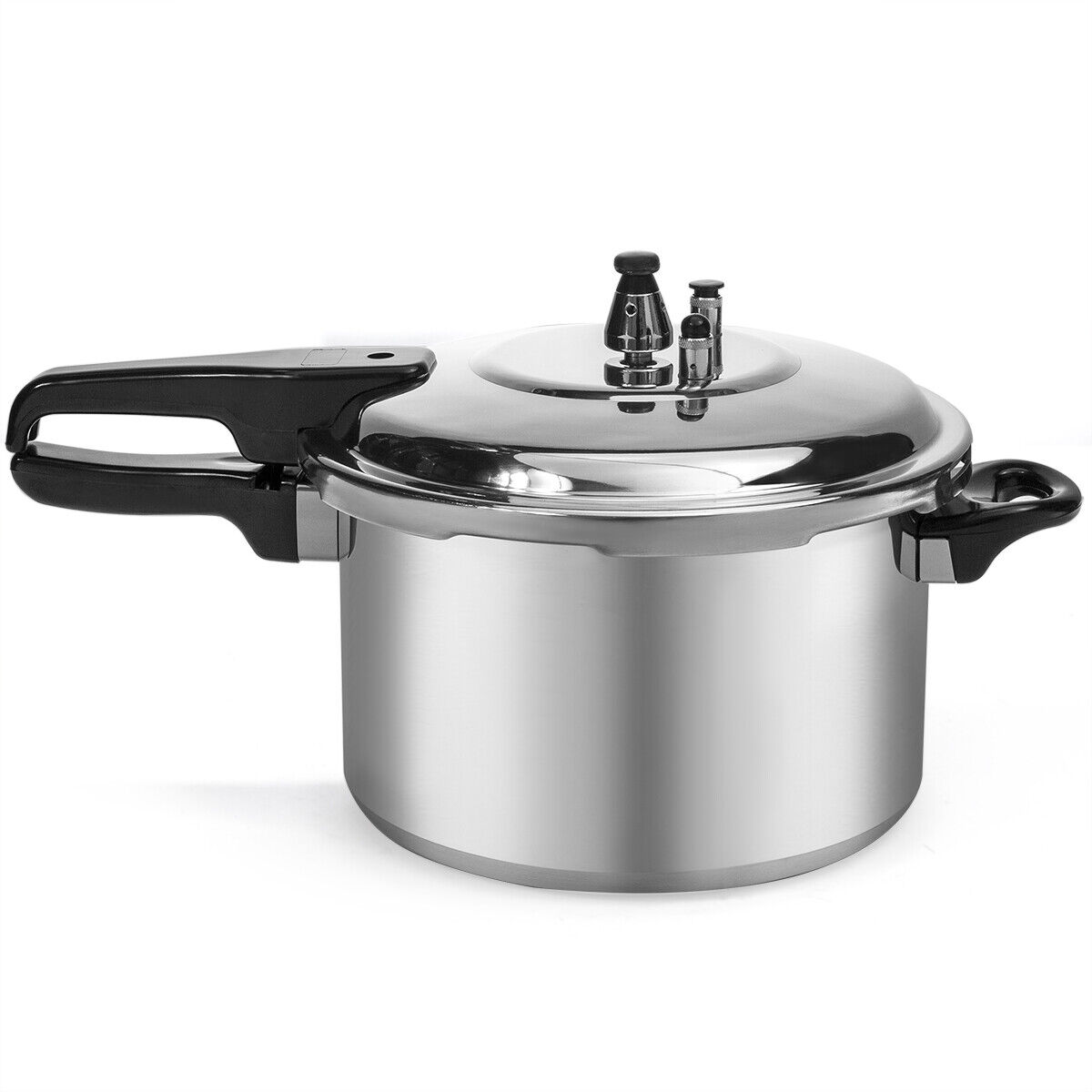 Pressure Canner Cooker 23-Qt Home Kitchen Aluminum Cooking Dinning Gas Electric