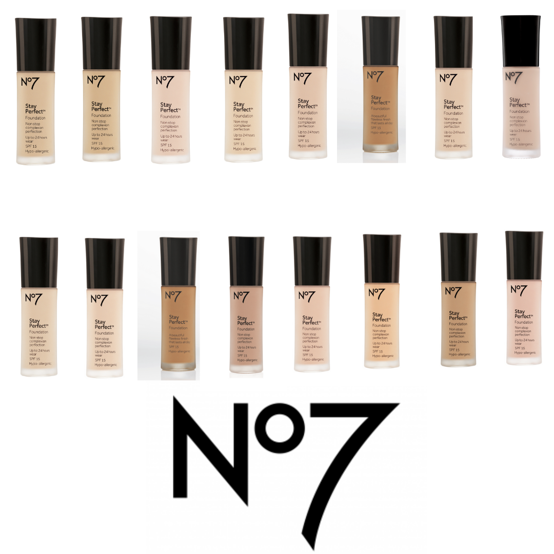 No7 Stay Foundation Coverage Medium Spf 15 30ml Latte For Sale Online Ebay