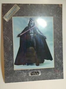 Star-Wars-1994-Chromart-Darth-Vader-with-Certificate-of-Authenticity-11-x-14