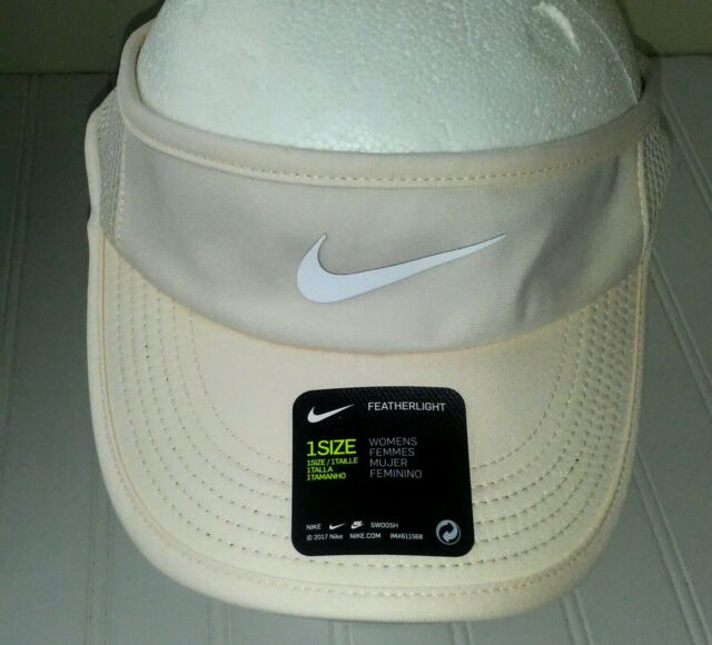 5f81376df NIKE Women's AEROBILL Featherlight Tennis Visor 899656 838 Guava Ice