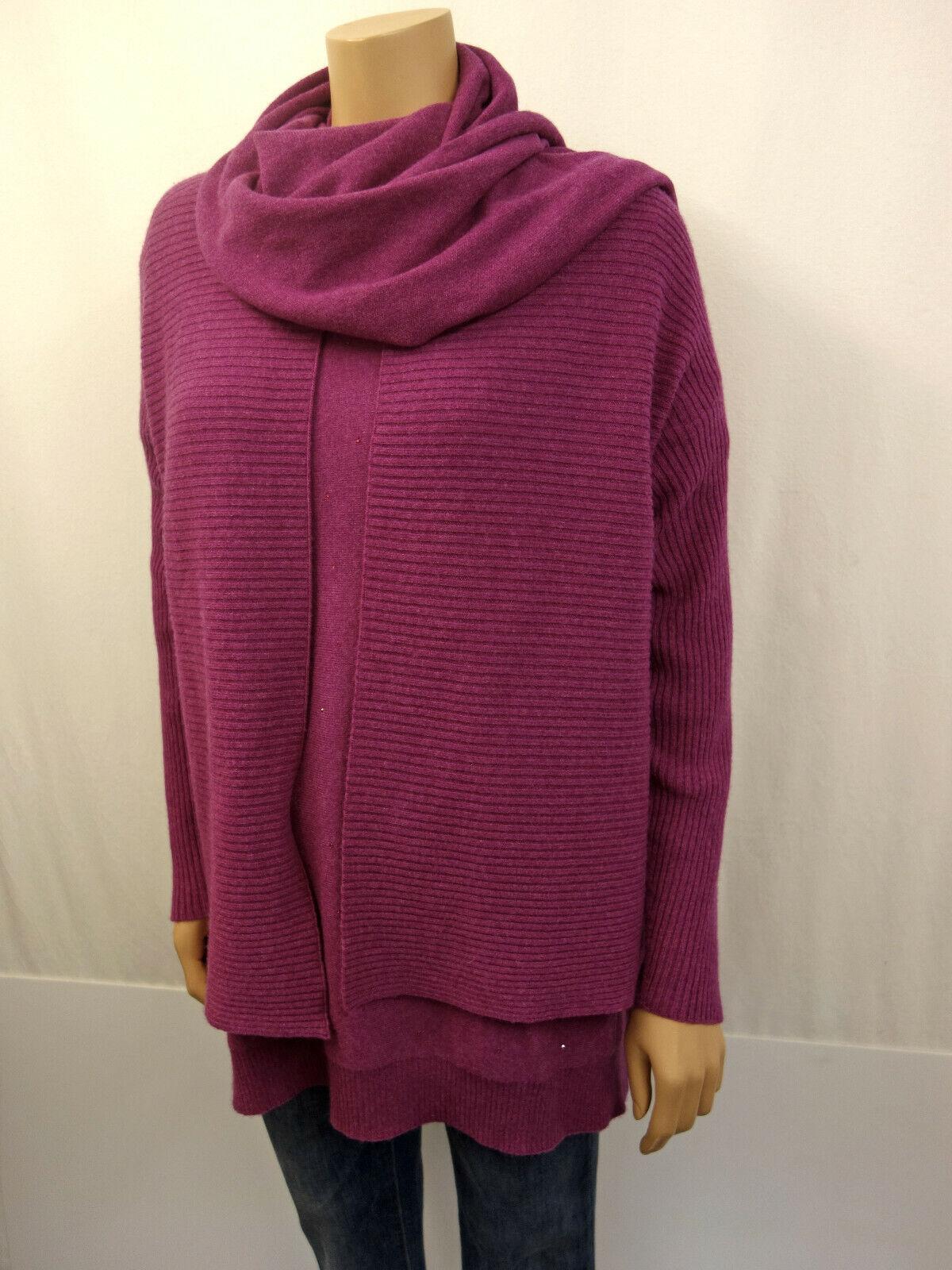 Hawico Scotland twinset suéter chaqueta de punto bufanda talla 42  44 cachemira Cashmere  orden ahora disfrutar de gran descuento