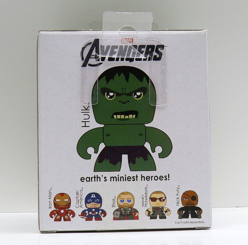 Marvel Avengers Movie Assemble Mini Mighty Muggs Action Figures Toy UK Seller