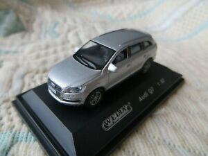 1-87-HO-Audi-Q7-Welly-Gris-Metalise
