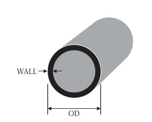 Tubo redondo de aluminio 1.3//4 44.4mm 2 de espesor longitudes de hasta 2500mm 2.5m