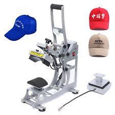 2in1 Heat Press Machine Digital Transfer Sublimation T Shirt Cap Hat Printer Kit