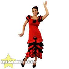 379ae44526ea item 2 LADIES RED RUMBA SPANISH COSTUME AND FLOWER HEADPIECE FLAMENCO FANCY  DRESS -LADIES RED RUMBA SPANISH COSTUME AND FLOWER HEADPIECE FLAMENCO FANCY  ...
