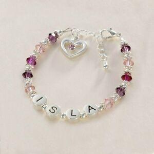 Image Is Loading Any Name Girl 039 S Personalised Bracelet