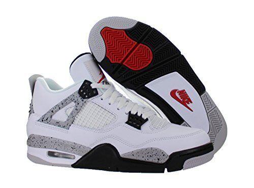 NIKE AIR Jordan 4 IV Cement White OG Retro 840606 192 (Size 13)