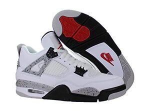premium selection 33915 07c24 Image is loading NIKE-AIR-Jordan-4-IV-Cement-White-OG-