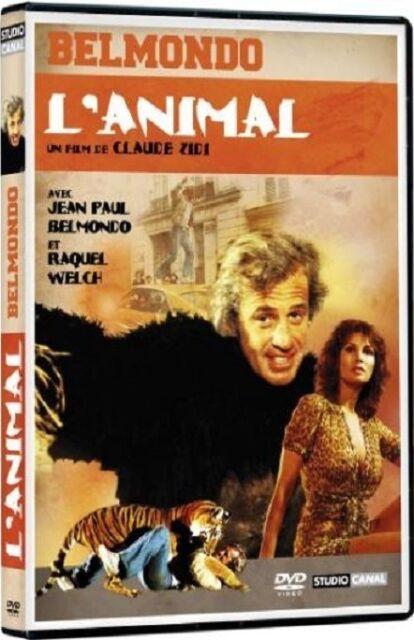 DVD  //   L' ANIMAL   //  Jean-Paul Belmondo - Raquel Welch  /  NEUF cellophané