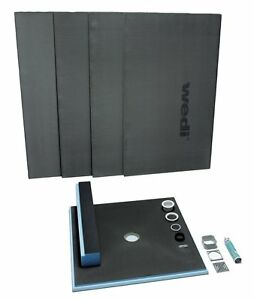 wedi fundo primo shower kit 36 x 60 799456732800 ebay. Black Bedroom Furniture Sets. Home Design Ideas