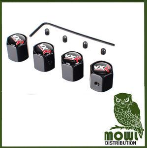 Tapones-de-polvo-VXR-rueda-neumatico-Vastago-de-Valvula-Tapas-de-llanta-adhesivo-VXR-Logotipo-Para