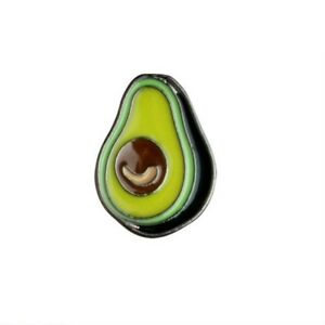 Avocado-Enamel-Lapel-Pin-Badge-Brooch-Cute-Hipster-Fruit-Pear-BNWT-NEW-Gift
