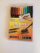 Le Plume II Double Ended Dye Based Marker Pens. Victorian Set by Marvy Uchida
