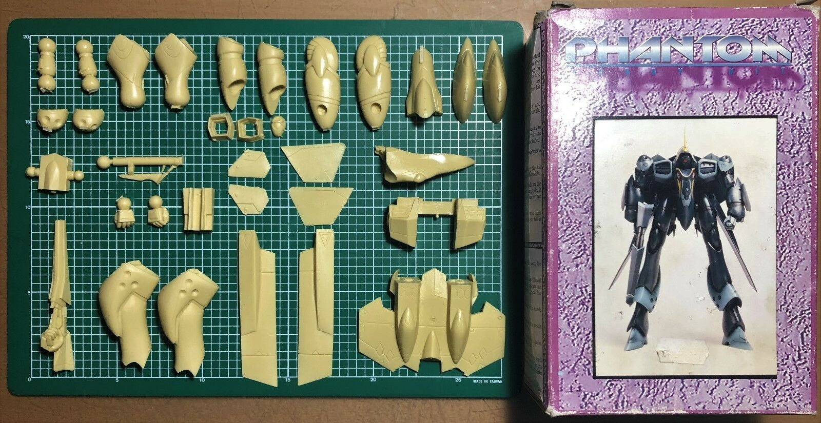 ELFIN MODEL - MACROSS PLUS YF-21 - 1 100 RESIN KIT