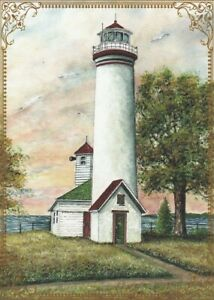 Modern-Wide-Lighthouses-P6-Lighthouse-Beside-Tree-Swap-Playing-Card