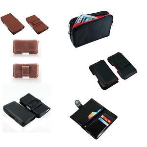 Handys & Kommunikation Handy Tasche Für Samsung Schutzhülle Etui Case Quer Gürteltasche Portemonnaie Kleidung & Accessoires