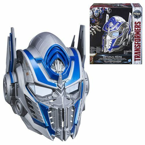 TRANSFORMERS OPTIMUS PRIME VOICE ACTIVATED HEAD THE LAST KNIGHT EDITION