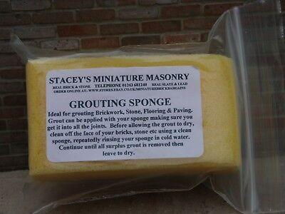 Stacey's Miniature Masonry Grouting Sponge