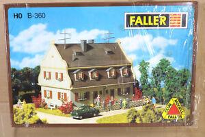 FALLER-B-360-HO-scala-GIARDINO-Citta-SEMI-STACCATO-Casa-Modello-ferrovia-Layout