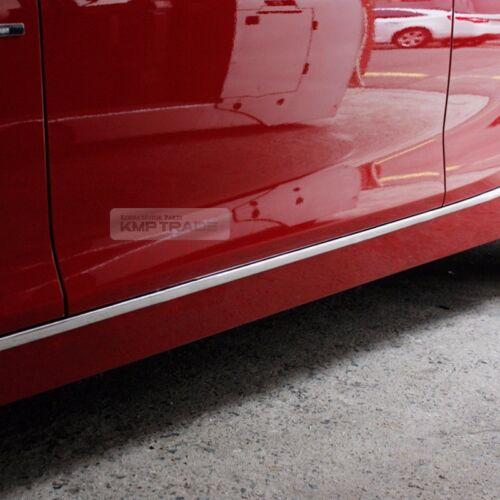 Flexible Chrome Edge Molding Window Sill Side Door Scuff 5meter For Sedan SUV RV