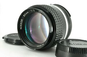 """ NEAR MINT "" Nikon Nikkor Ai 85mm f/2 Portrait MF Prime Lens w/Cap From JAPAN"