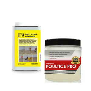 Concrete Stain Remover >> Details About Cooking Oil Mineral Oil Stain Remover Kit For Concrete 500ml 200g Ltp Srp