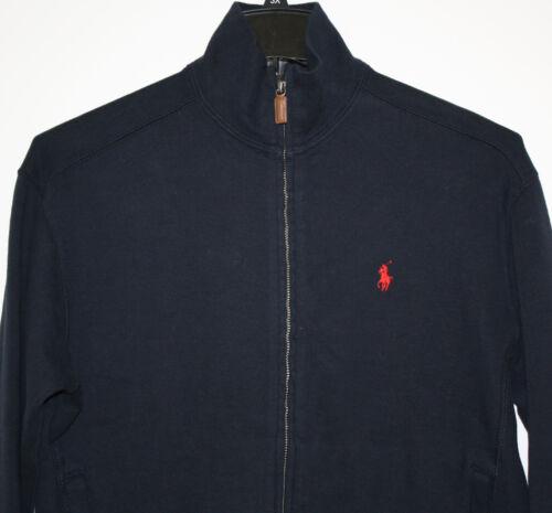 Pull Fermeture clair Rouge Tricot Marine Bleu Polo Coton Ralph Lauren SgwWqEH