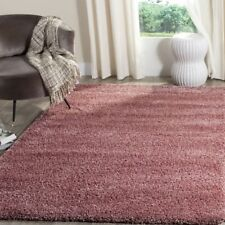8 x 10 Shag Area Rugs 8' 10' Accent Carpet Rugs Solid High Density MANY COLORS!
