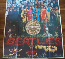 BEATLES POSTER SGT. PEPPER - HUGE - 154x102cm - 20 Years Ago Today