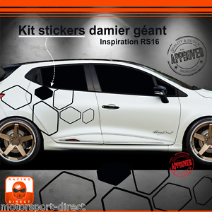 sticker renault clio rs 4 iv tuning sport aufkleber. Black Bedroom Furniture Sets. Home Design Ideas