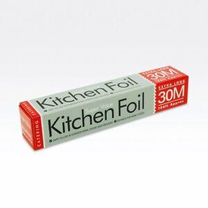 Essential Kitchen Cooking Foil Aluminium 300mm x 30m