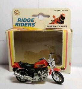 Zylmax-Ridge-Riders-1-24-escala-1995-Diecast-HONDA-CB-X-en-Caja